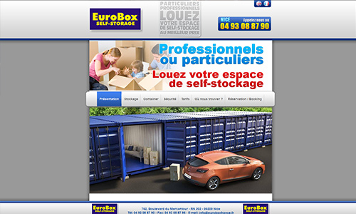 Eurobox self-storage